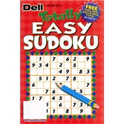 Totally Easy Sudoku Magazine Subscription, 4 Issues, Puzzles   Games magazines.com