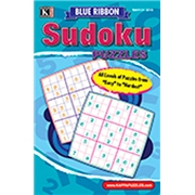 Blue Ribbon Sudoku Puzzles Magazine Subscription, 12 Issues, Puzzles   Games magazines.com