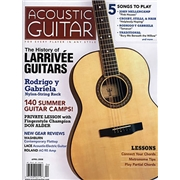 Acoustic Guitar Magazine Subscription, 6 Issues, Instruments   Performers magazines.com