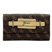 Guess Women s Greyson Slim Clutch Tri Fold Wallet