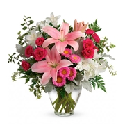 Blush Rush Flower Delivery