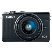 Canon 2209C011 EOS M100 24.2MP Mirrorless Digital Camera with EF-M 15-45mm f/3.5-6.3 IS STM Lens - Black