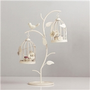 ApolloBox Bird Cages And Nesting Branches Candle Holders