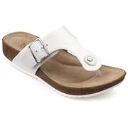 Hotter Resort Sandals - White Standard Fit 9