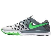 Nike Train Speed 4 Mens Training Shoes - Platinum/Gray/Green; 9.0