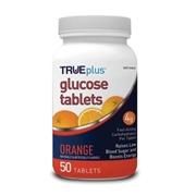 Trividia Health TRUEplus Glucose Tablets 50ct- Orange