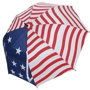 JEF World of Golf USA 62 Dual Canopy Umbrella