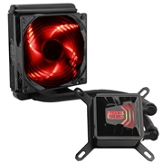 27 geekbuy Pccooler Billow 120 CPU Water Cooling Fan Temperature Controller With LED Red Light 120mm - + Black