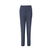 Dorothy Perkins *Tall Navy Grid Check Print Ankle Grazer Trousers