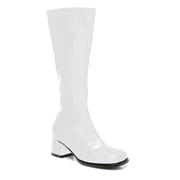 ELLIE SHOES Kids White Go Boots - Size 4/4.5 by Spirit Halloween