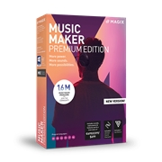 MAGIX Software Music Maker 2019 Premium Edition