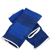 13 geekbuy 2PCS Foot Protector Sports Health Protectors Polyester And Cotton Knitting Care Warm Ankle Protective Gear - Blue
