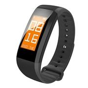 22 geekbuy Makibes Color C01 Smart Band IP67 0.96 Display Blood Pressure Heart Rate Oxygen Monitor - Black