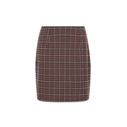 *Vero Moda Multi Colour Check Print Skirt