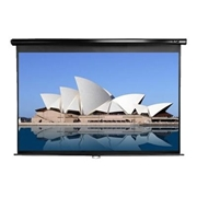 Elite Screens M120H Manual Series M120H - Projection screen - ceiling mountable wall mountable - 120 in 120.1 in - 16:9 - MaxWhite