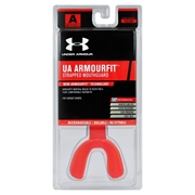 Under Armour Armour Fit Strapped Mouth Guard - Adult Protective Gear; Blaze Orange