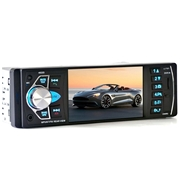 24 geekbuy 4022D 4.1 Inch Digital TFT Touch Screen Car MP5 Player Auto Video With Remote Control Camera Bluetooth FM Station - Black