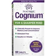 Natrol Cognium 60 Tablets - Memory And Mind Enhancers