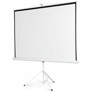 Costway 100 Tripod Portable Projection Projector Screen Square 70x70 Stand Office Hom