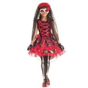 LRS APPAREL Kids Senorita Day of the Dead Costume by Spirit Halloween
