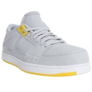 Warrior Low Dog Adult Shoes - Grey/Yellow; 6.5