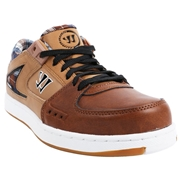 Warrior Low Dog Adult Shoes - Brown/Tan/Blue; 6.5