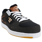 Warrior Low Dog Adult Shoes - Charcoal/Black/Brown; 6.5