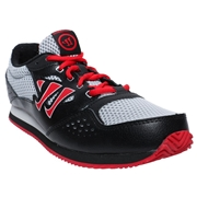 Warrior Actify Youth Training Shoes - Black/Grey; 5.5C