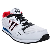 Warrior Actify Youth Training Shoes - Red/White/Blue; 5.5C