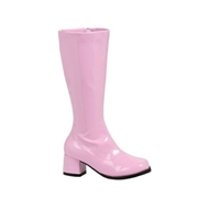 ELLIE SHOES Kids Pink Go Boots - Size 13/1 by Spirit Halloween