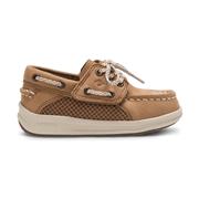 Sperry Kids Gamefish Junior Boat Shoe DarkTan, Size 11W