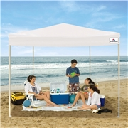 Sportcraft 10 x 10 Instant Canopy with Straight Legs - White