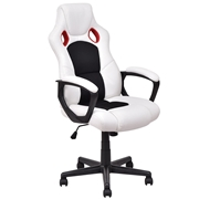 Costway Executive Adjustable High Back Swivel Gaming Chair