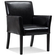 Costway Modern PU Leather Executive Arm Chair Sofa