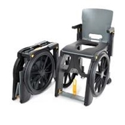Clarke Healthcare WheelAble Folding Commode and Shower Chair