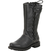 Harley-Davidson Womens Melia Side Lace Motorcycle Boots Shoes 8.5 B M US