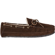 Mens Sperry Shearling Slipper Chocolate, Size 11