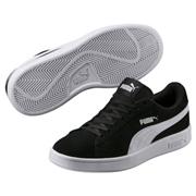 Puma Kids Smash v2 Sport Shoe, Color: Puma Black-Puma White, Size: 7