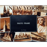 NYC Sepia Photos 4x6 Picture Frame