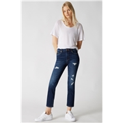 Blank NYC High Rise Crop Pants in Sound Check, Size 24