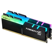 G.SKILL TridentZ RGB Series DDR4 3200MHz 16GB 2 x 8GB Memory Modules Kit For Desktop Computer - Black