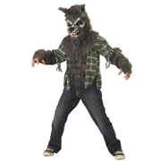 CALIFORNIA COSTUME COLLECTION Kids Howling at the Moon Gray Wolf by Spirit Halloween
