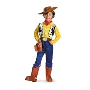 DISGUISE Kids Woody One Piece Costume Deluxe - Toy Story by Spirit Halloween