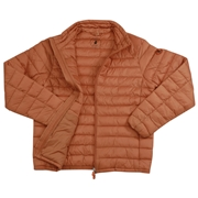 Save The Duck Mens Lightweight Puffer Winter Jacket - Orange - Medium