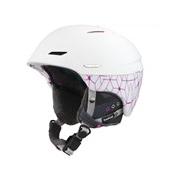 Bolle Millennium White and Pink Iceberg 58-61cm Millennium Ski Helmet