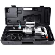 Costway Heavy Duty 1 Air Impact Wrench Gun Long Shank Commercial Truck Mechanics w/Case