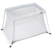 Costway Portable Lightweight Baby Playpen Playard with Travel Bag-Gray