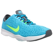 Nike Zoom Fit Womens Training Shoes - Clearwater/Flash Lime; 6
