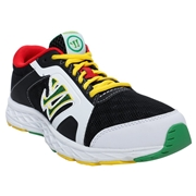 Kids Shoes Warrior Dojo 2.3; Rasta - Size 5