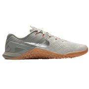 Nike Metcon 3 Mens Training Shoes - Dark Stucco/Metallic Silver/Pale Grey; 8.0